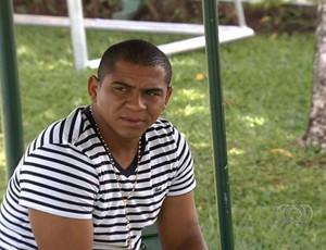 Walter, atacante do Goiás (Foto: Reprodução/TV Anhanguera)