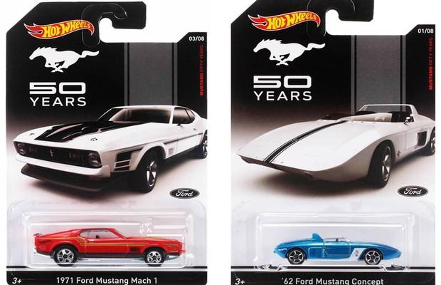 """Coleção Hot Wheels """"Mustang 50 Years"""" (Foto: Divulgação)"""