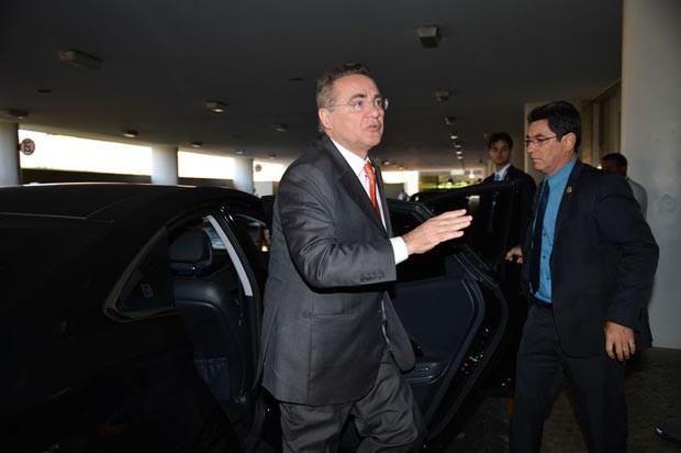 O presidente do Senado, Renan Calheiros, voltou a afirmar que não conhece o lobista que o citou em depoimento de delação premiada (Foto: José Cruz/Agência Brasil)