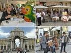 Tour em Lisboa: estátuas vivas e relíquias subterrâneas encantam Ana Maria