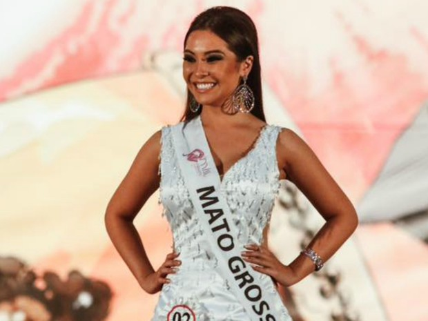 Ana Carolina Miyashita representou Mato Grosso em concurso  (Foto: Divulgação)