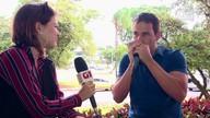 Gaitista e professor Pablo Fagundes faz beatbox com instrumento