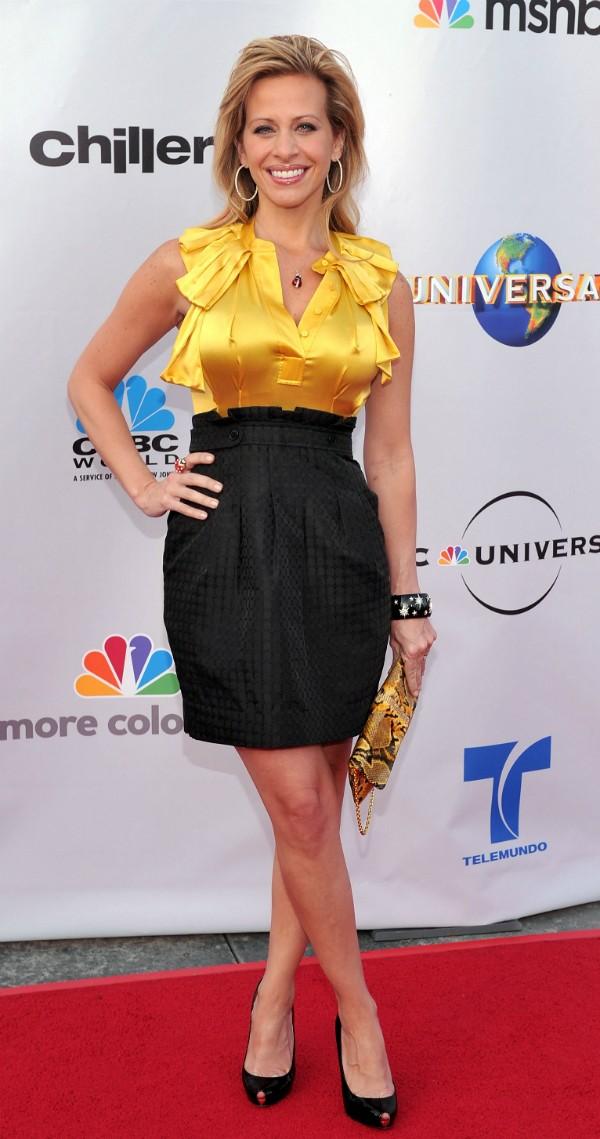 A celebridade Dina Manzo resolveu seus problemas nas costas (Foto: Getty Images)