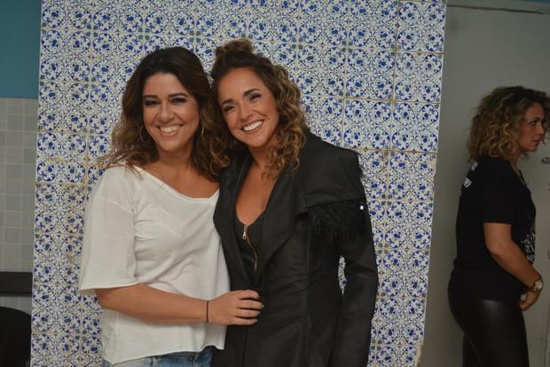 Malu Verçosa e Daniela Mercury (Foto: Felipe Souto Maior/Agnews)