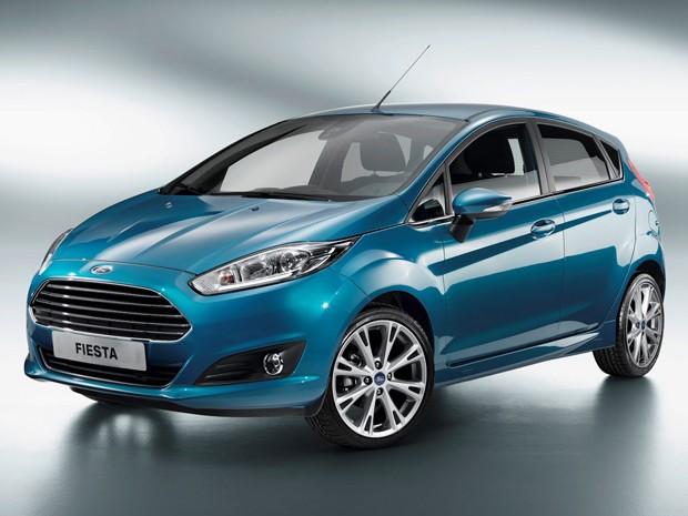 Ford New Fiesta passa por reestilização  (Foto: Divulgação)