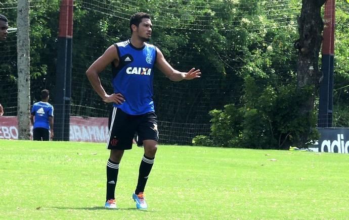 Flamengo Treino  Hernane Ninho do Urubu (Foto: Carlos Mota)