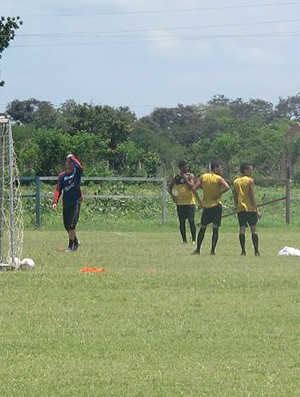 treino Bahia de Feira (Foto: Diego Ribeiro)
