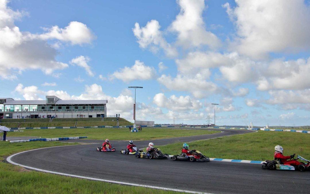 Kartódromo foi construido na cidade do Conde, no litoral sul da Paraíba (Foto: Divulgação)