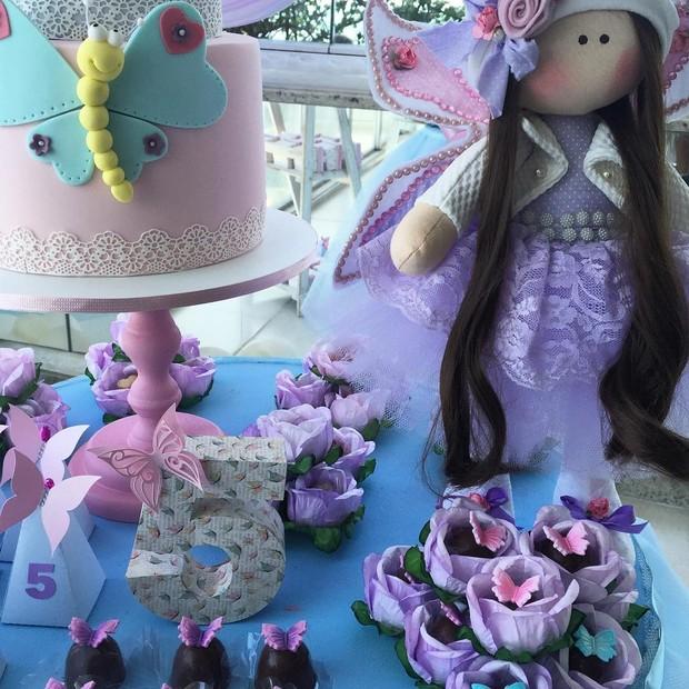 Decoração da festa de Maria Flor, filha de Deborah Secco (Foto: Instagram / Reprodução)