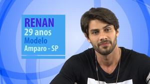 Renan é participante do BBB16 (Foto: Gshow)
