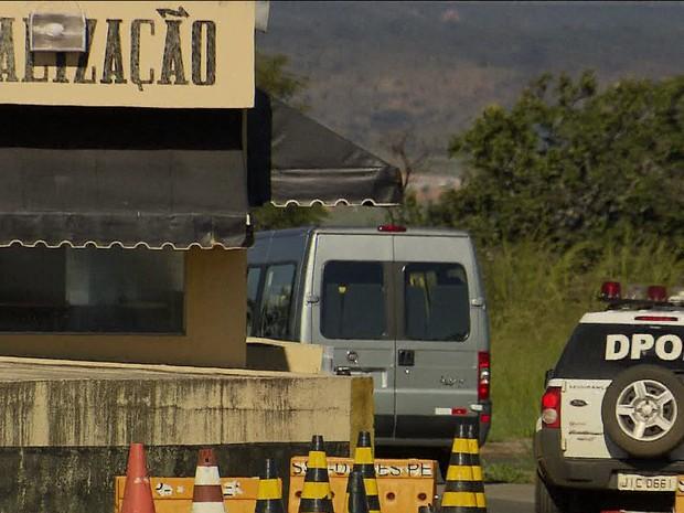 GNews - Visita de deputados à Papuda (Foto: globonews)