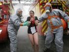 França faz simulação de ataque químico em estádio da Eurocopa