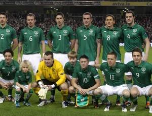 Irlanda Seleção Euro -  15/11/2011 (Foto: Agência AFP)