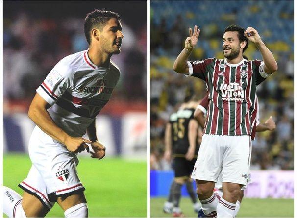 São Paulo enfrenta o Fluminense, neste domingo (Foto: Divulgação/TV Sergipe)