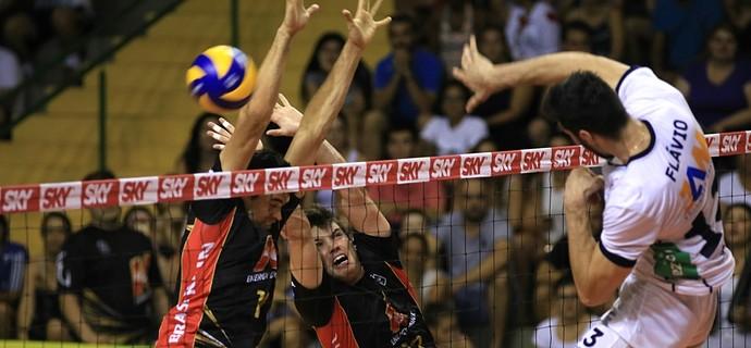 Campinas x Minas Superliga masculina vôlei (Foto: Cinara Piccolo / Vôlei Brasil Kirin)