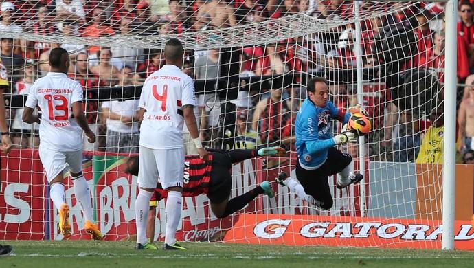 Rogério Ceni  - Atlético-PR 3 x 0 São Paulo (Foto: Rubens Chiri/saopaulofc.net)