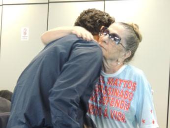 Mãe de Manoel Mattos, a aposentada Nair Ávila participa do júri como assistente de acusação. (Foto: Luna Markman / G1)