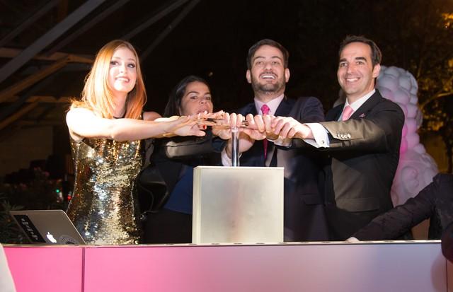Marina Ruy Barbosa, Daniela Falcão e Bruno Astuto (Foto: Gerson Lirio)