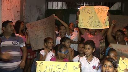 Direção da escola Municipal Olga Benário, no Bairro Santos Dumont, decide fechar as portas