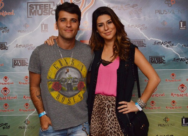Bruno Gagliasso e Fernanda Paes Leme (Foto: AgNews)
