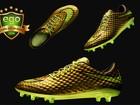 Neymar usa chuteiras douradas de R$ 1,2 mil no jogo contra o Chile