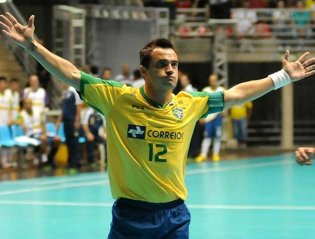 futsal falcão brasil e paraguai (Foto: Luciano Bergamaschi / CBFS)
