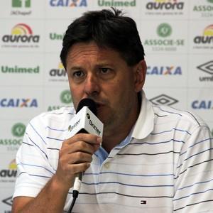 Sandro Pallaoro presidente Chapecoense (Foto: Aguante Comunicação/Chapecoense)