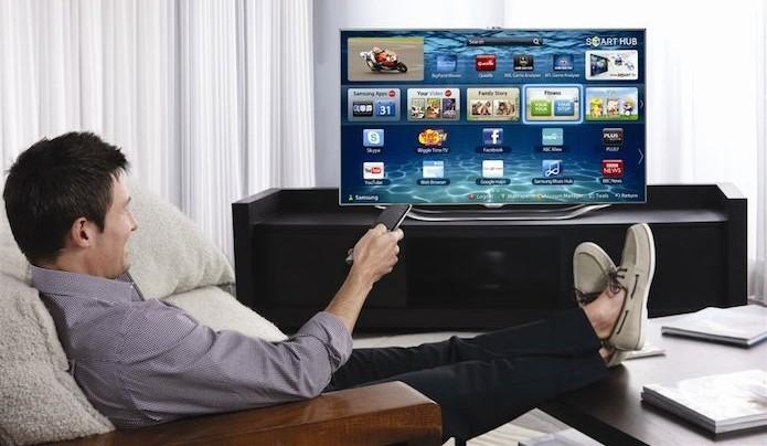 Como mudar a senha na Smart TV (Foto: Divulgação/Samsung)