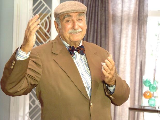 Elias Gleizer como Tarcísio, personagem que interpretou em 'Malhação' em 2007 (Foto: Cedoc/TV Globo)