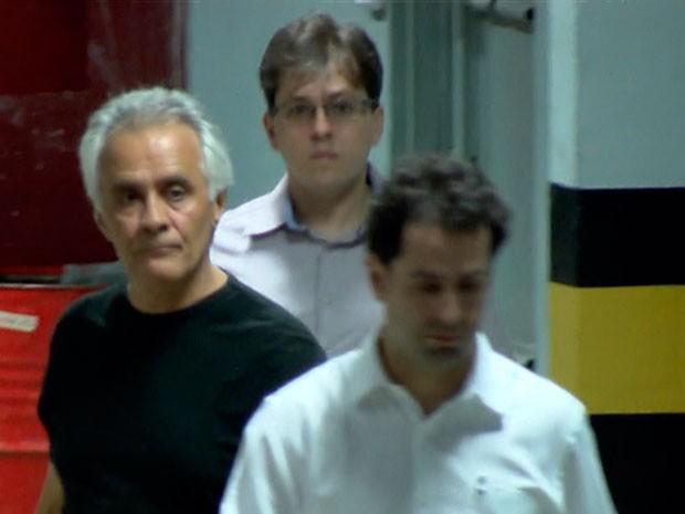 Ramon Hollerbach é o sexto a se entregar à Polícia Federal em Minas (Foto: Reprodução/TV Globo)