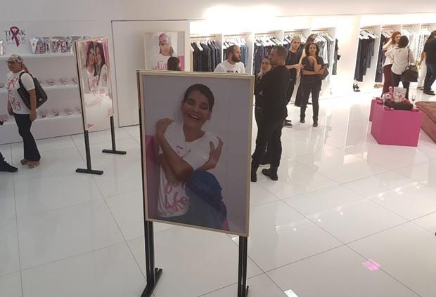 Exposição do fotógrafo Leo Faria em prol do Outubro Rosa (Foto: Editora Globo)