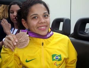 Joana Silva, nadadora paralímpica (Foto: Jocaff Souza/Globoesporte.com)
