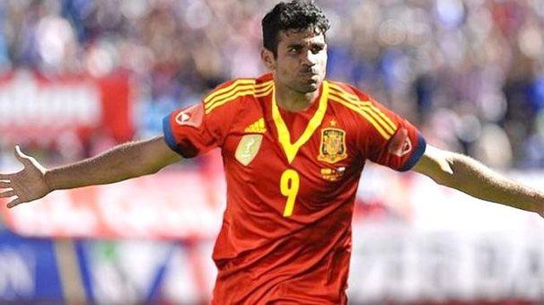 Diego Costa, sergipano é um dos destaques da seleção espanhola (Foto: Divulgação/Reprodução)