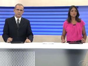 Gilvan e Heliana trazem primeiras notícias do dia (Foto: Reprodução/TV Gazeta)