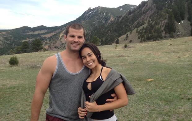 Forest Graham e a namorada (Foto: Reprodução/Facebook)