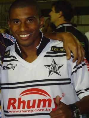 Juninho, meio-campista do Estrela do Norte (Foto: Divulgação/Arquivo Pessoal)