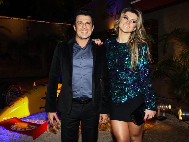 Ceará e Mirella Santos em evento em São Paulo (Foto: Manuela Scarpa/ Foto Rio News)
