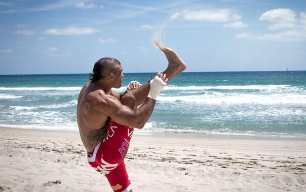 treino Vitor Belfort mma ufc (Foto: Eric Martinez / Mundo Boxing)
