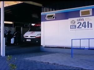 UPA ficou vazia e quem buscava atendimento voltou para casa sem solução (Foto: Reprodução Rogério de Paula/Intertv)