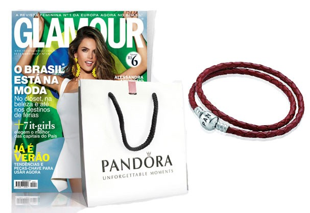 Nossa capa de setembro e o bracelete Pandora que você pode ganhar assinando  a Glamour ( 1b52592e38