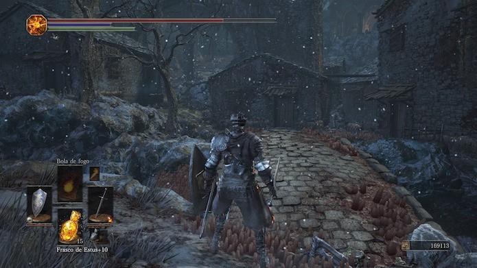 Dark Souls 3: primeira expansão traz novas armas e inimigos (Foto: Reprodução/Victor Teixeira)