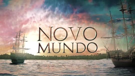 Abertura de 'Novo Mundo' conta história da novela em 3D