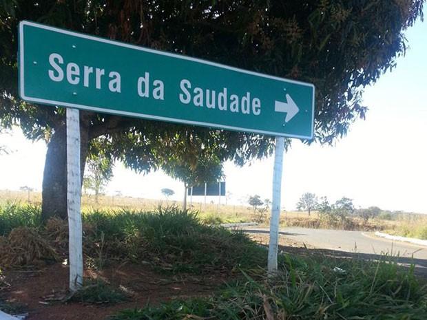 Com 825 habitantes, Serra da Saudade é a menor cidade do Brasil (Foto: Anna Lúcia Silva / G1)