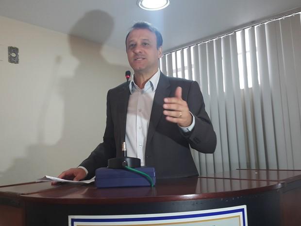 Jonas Nogueira, candidato à prefeitura de Cachoeiro de Itapemirim pelo PP (Foto: Beatriz Caliman/ A Gazeta)