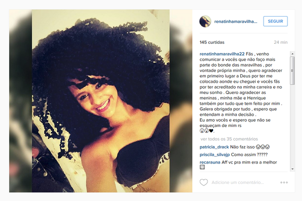Renatinha Maravilha  (Foto: Reprodução/Instagram)