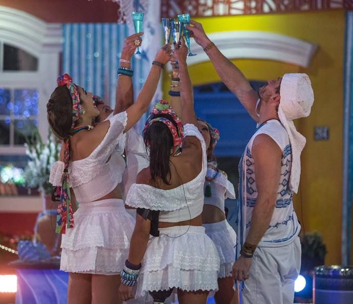 Brothers brindam na Festa Bahia (Foto: Artur Meninea/Gshow)