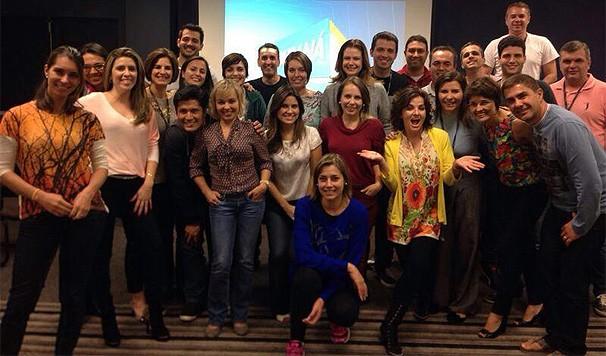 Encontro Fonoaudiológico dos Apresentadores da RPC TV (Foto: Divulgação/ RPC TV)