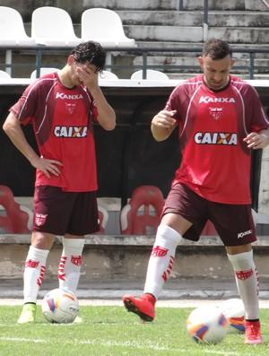 Treino CRB (Foto: Leonardo Freire/GloboEsporte.com)