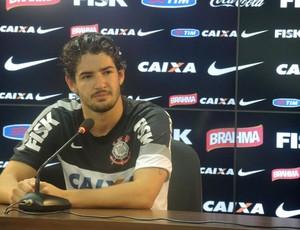 Pato coletiva Corinthians (Foto: Rodrigo Faber)