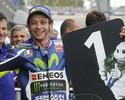 Rossi volta a fazer uma pole depois de 10 meses e larga na frente na Espanha